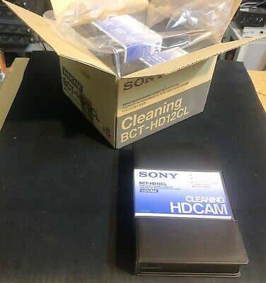1 X Factory Sealed Sony Bct-hd12cl & Hdcam-sr Cleaning Cassette