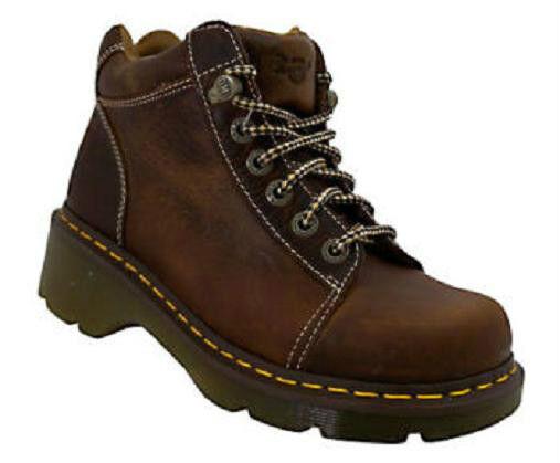 Dr. Martens Toya dark tan leather boot sz 5 Md NEW