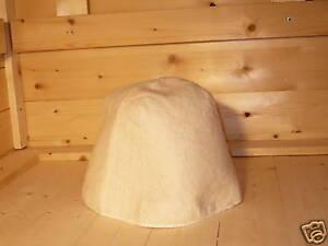 Sauna-Hut-aus-Bio-Natur-Filz-auch-fuer-russische-Banja-Filzkappe-Saunamuetze