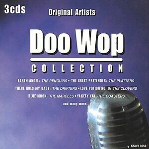 Doo-Wop-Collection-Madacy-2000-by-Various-Artists-CD-Nov-2000-3-Discs
