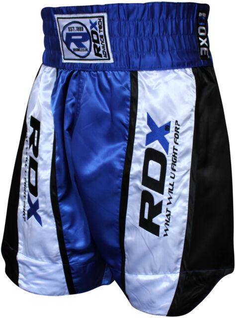 RDX Boxing Trunks MMA Grappling Kick Martial Arts Muay Thai Shorts Fight Mens AB