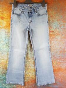 Ensoleillé Femme Jeans Stretch Taille 10 Moto Facile à RéParer