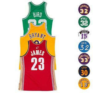 60e9f8a50676 Image is loading NBA-Authentic-On-Court-Throwback-Jersey-Collection-by-