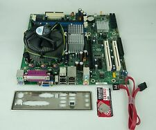 Intel D41676 DQ965GF Core 2 Duo 2.13GHZ Motherboard SATA I/O Plate Heat Sin