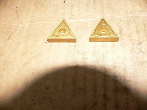 Machinist tool lot  Kennametal  Sandvic  Seco Carbide inserts  Triangle 5//8 Ic