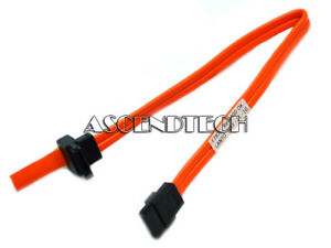 DELL-OPTIPLEX-9-034-ORANGE-SATA-SERIAL-ATA-HDD-HARD-DRIVE-OPTICAL-DATA-CABLE-F787C