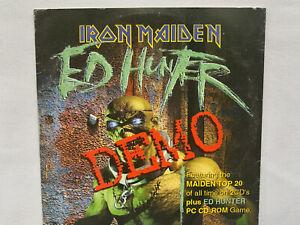 Iron-Maiden-Ed-Hunter-DEMO-CD-CD-Rom-Promotional-CD-edhunter666-RARE
