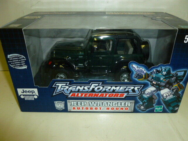 Transformers   alternators jeep wrangler m.i.b. rare