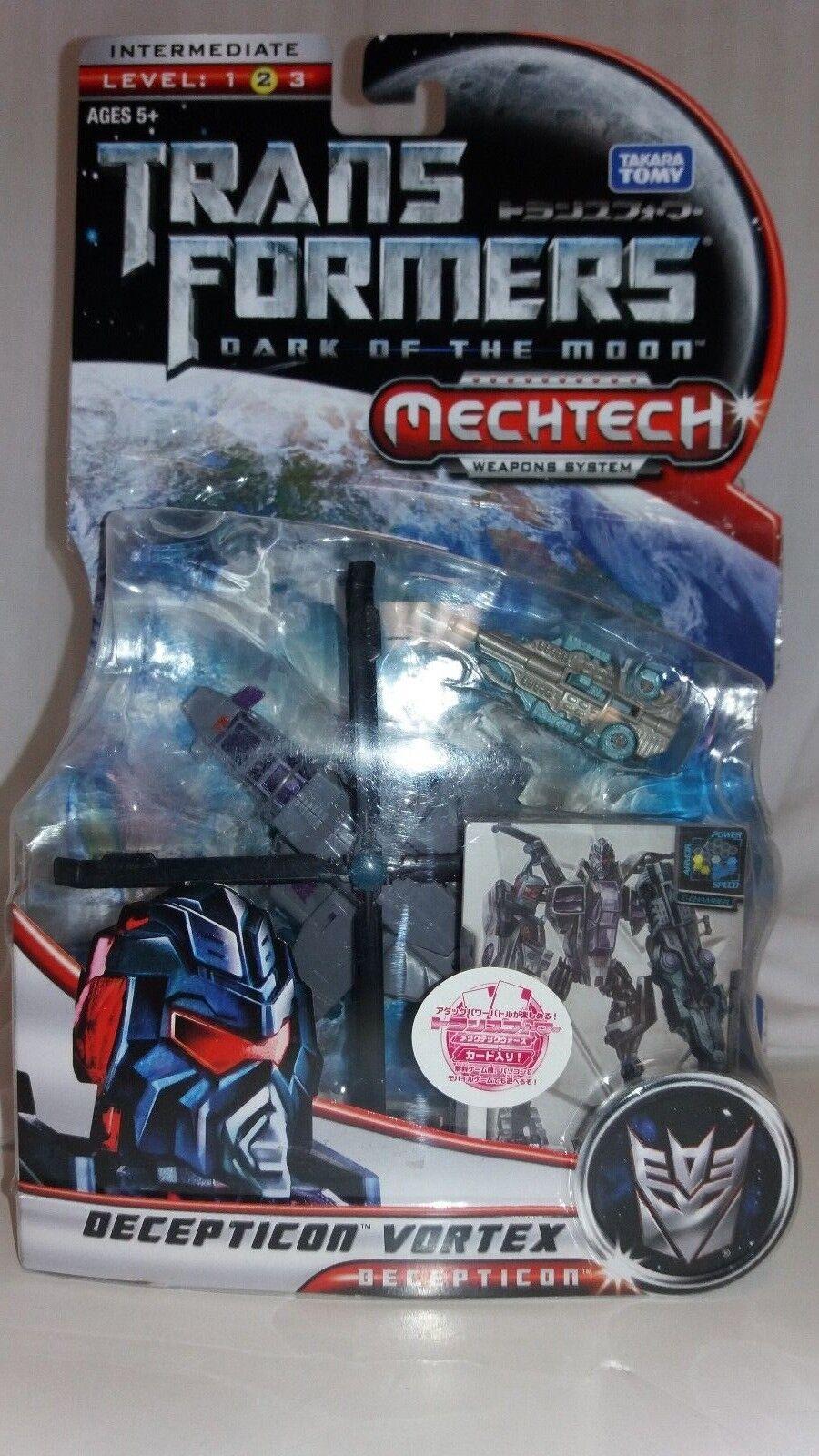 Transformers Dark Of The Moon Decepticon Vortex Mechtech Action Figure NEW