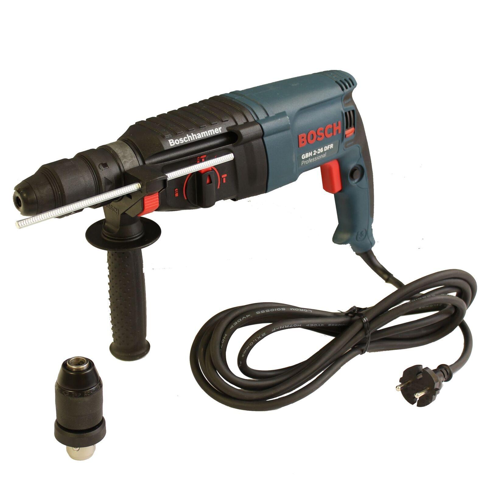 Bosch Bohrhammer GBH 2-26 DFR Professional 800W mit SDS-Plus im Handwerkerkoffer