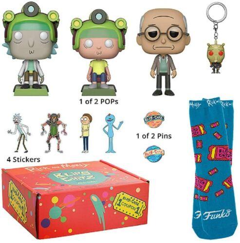 FUNKO Rick and Morty spots et Chitz Mystery box.