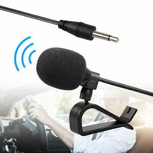 3-5mm-Microphone-Car-Radio-Stereo-GPS-DVD-Bluetooth-Enabled-Audio-External-Mic