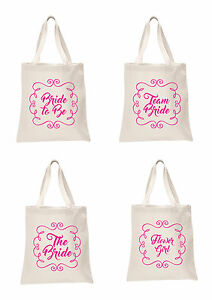 Wedding-Favour-Large-Tote-Bags-Printed-Gift-Present-bridesmaid-Hen-Do-Party-Bag