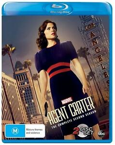 Agent-Carter-Season-2-2-Disc-Blu-ray-Set-Region-Free-Marvel-Studios-TV-Series