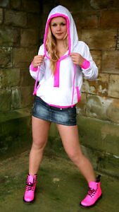 Rave ​​Top On Funki Tutti Hoody Clubwear Pull Cyber Full colori Street Length i b BZwxqgw7v