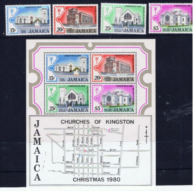 Jamaica – Christmas 1980 (F57) – Free postage