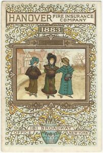 1883-Aesthetic-Movement-Hanover-Fire-Insurance-Trade-Card