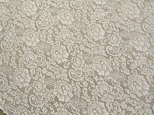 "Ivory Lace Julia design tablecloth  90""round"