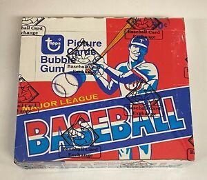 1979 Topps Baseball Cello Pack Box BBCE Sealed w/ 24 Packs Ozzie Smith RC YR