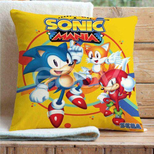 Sonic Hedgehog Throw Pillow Case Cushion Cover Mat Bed Sofa Car Home Decoration