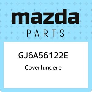 GJ6A50640K Genuine Mazda MOULD R ,FRT.BELT GJ6A-50-640K