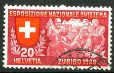 SWITZERLAND - SVIZZERA - 1939 - Esposizione naz. a Zurigo - 20 c. (in italiano)