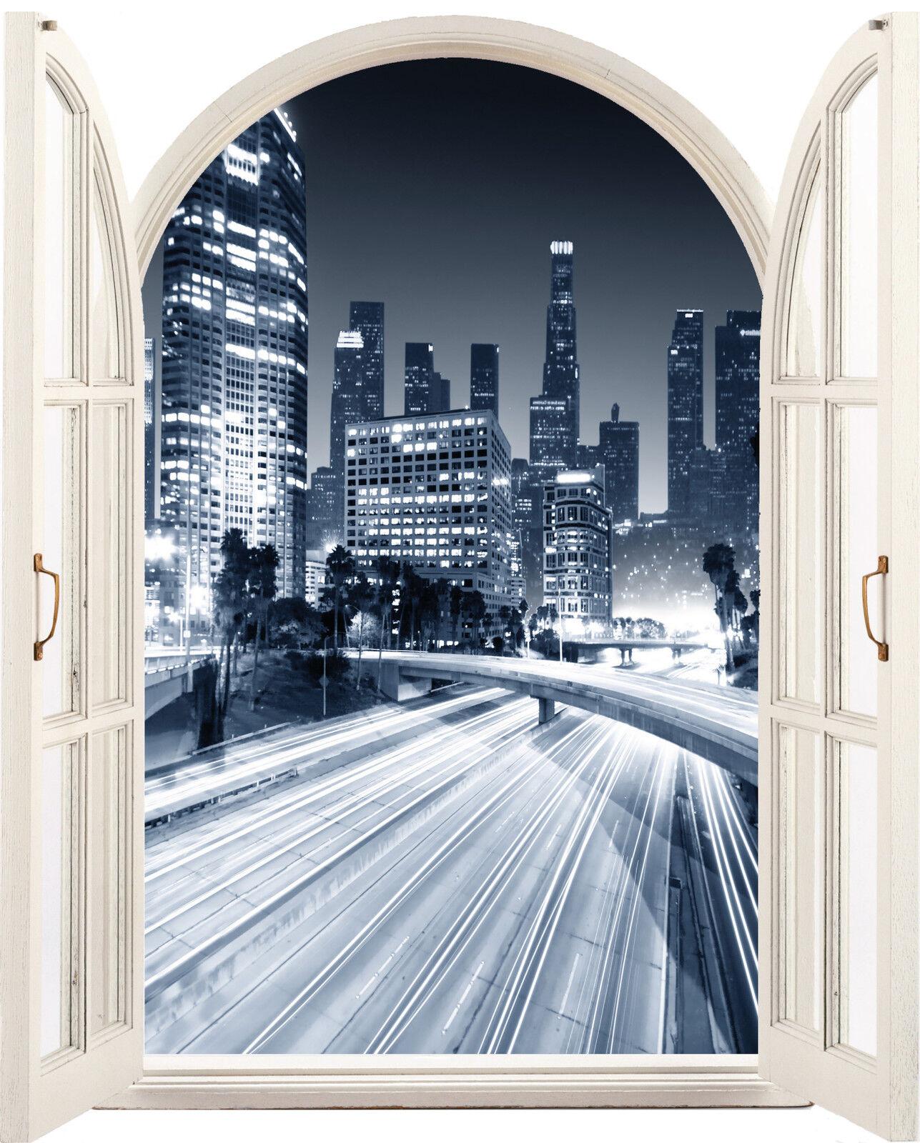 Aufkleber Fenster Schein Auge New York S&w 64x80cm