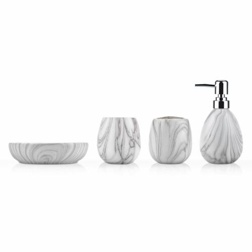 Toothbrush Holder Tumbler Soap Dish Bathroom Accessories Set Soap Dispenser