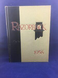 UNIVERSITY-OF-ARKANSAS-1956-YEARBOOK-ANNUAL-RAZORBACKS-HOGS