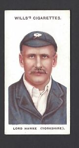 WILLS-CRICKETERS-WILLS-039-s-15-LORD-HAWKE-YORKSHIRE