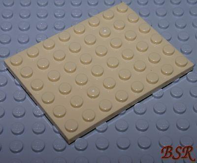 Bauplatten /& unbespielt SK11 2 Stück tan beige Bau Platte 6x8