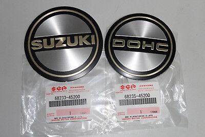 Emblem original Suzuki GS 550 1000 1100 Zündungsdeckel Motordeckel