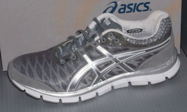 3dbf780415c21 ASICS Gel-nerve 33 Men s Running Shoes Cross Training Size 8 Grey