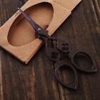 "DIY 4.7"" Vintage Stainless Steel Cross Stitch Antique Sewing Scissors Craft"