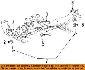 Dodge CHRYSLER OEM 94-05 Ram 1500 Frame-Mount Bolt 6501557 | eBay