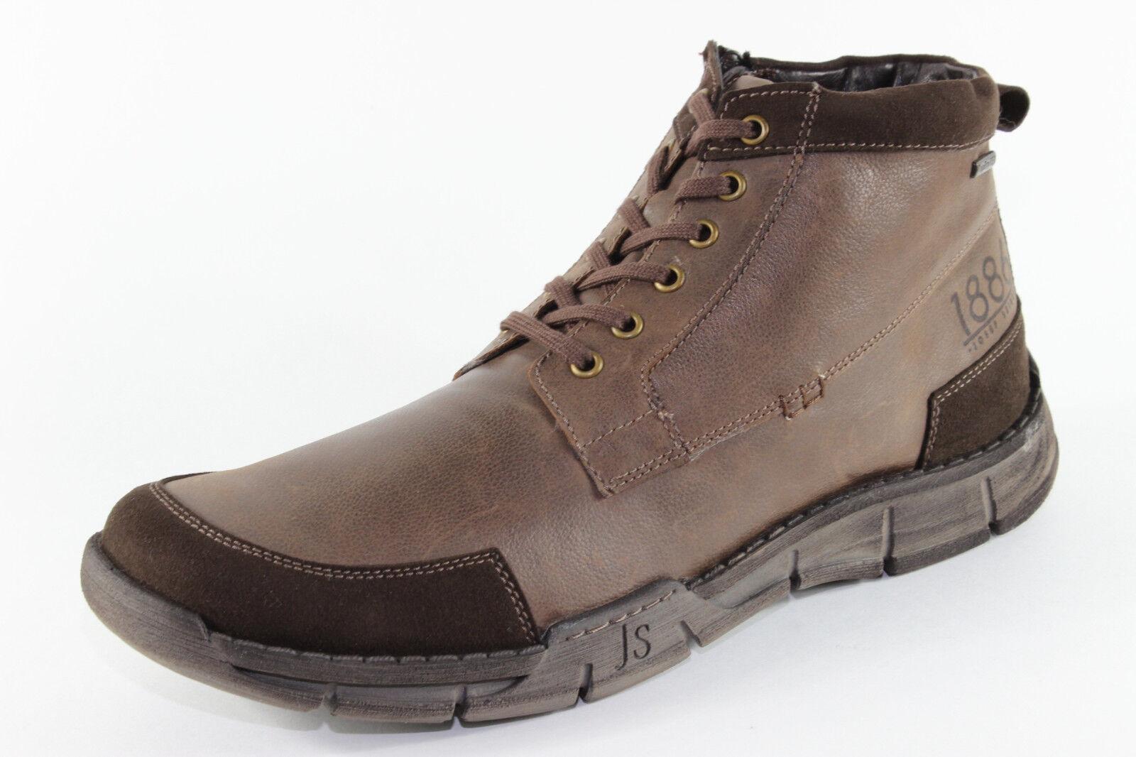 Josef Seibel Phil 03, warme warme warme Stiefel aus Leder, Herrenschuhe Übergröße ef9bbf