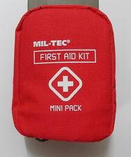 Erste Hilfe Set First Aid Kit Mini Pack Pflaster Binde Schere  Sicherheitsnadeln