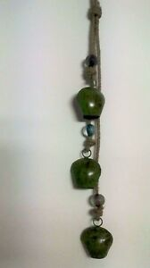 Handmade-Set-3-Large-Cow-Bells-Windchime-with-Beads-Ethical-Trade-from-India