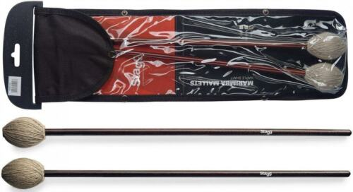Wool Wrapped Soft Head Stagg Model SMM-WS Pair of Marimba Mallets