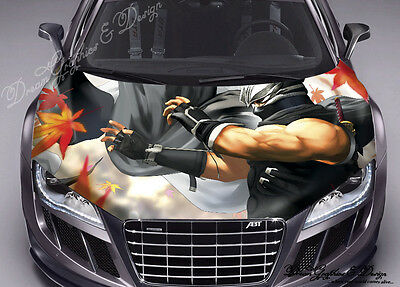 Anime Full Color Graphics Adhesive Vinyl Sticker Fit any Car Bonnet #136