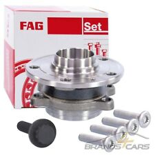AUDI S3 8P 2.0 Wheel Bearing Kit 06 to 13 With ABS FAG 1K0407621C 1T0498621 New