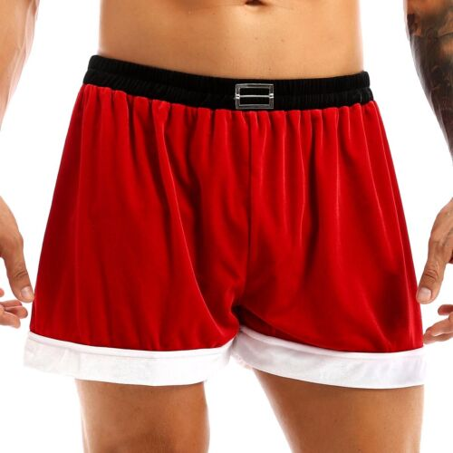 Men/'s Underwear Boxer Shorts Fancy Underpants Christmas Panties Trunks Briefs US