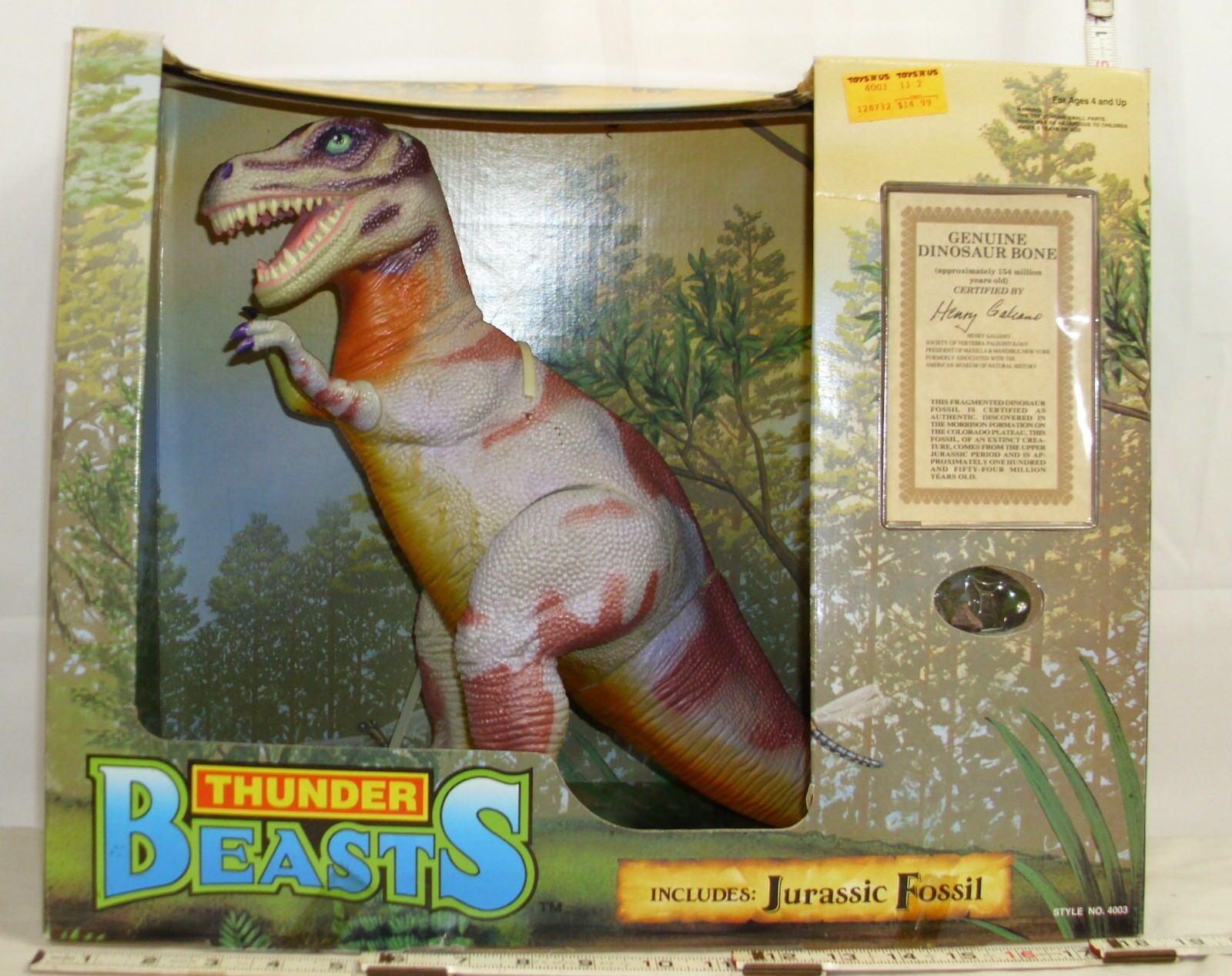 Donner Besteien tyrannosaurus rex dinosaurier - knochen 1993 himmel kinder zahl stillgelegt