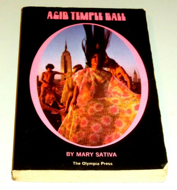 ACID TEMPLE BALL MARY SATIVA PSYCHEDELIC DRUGS LSD Hippie Erotica San Francisco