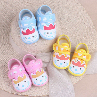 Newborn Cute Baby Boy Girls Sandals Bow Toddler Infant Soft Sole Prewalker Shoes