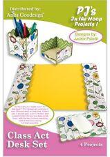 Class Act Desk Set Embroidery Design Cd Anita Goodesign