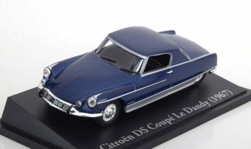 1:43 Atlas//norev Citroen DS dandy by chapron 1967 Blue//Silver