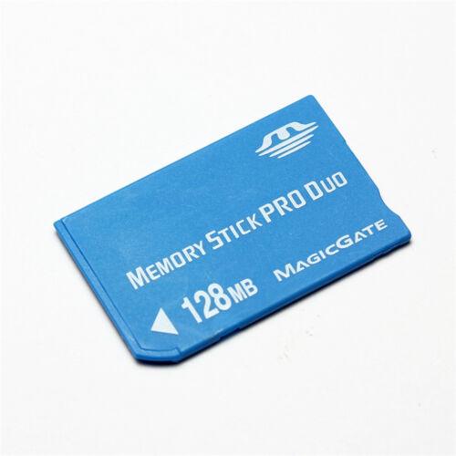 Nuevo 128MB Memory Stick Pro Duo Tarjeta MS 128MB Tarjeta de memoria con Adaptador Y Estuche