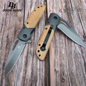 Knives-Folding-Knife-Tactical-Hunting-Survival-Pocket-Utility-Camping-Outdoor
