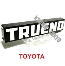 NEW GENUINE JDM TOYOTA COROLLA AE86 TRUENO KOUKI FRONT GRILLE EMBLEM BADGE 83-87
